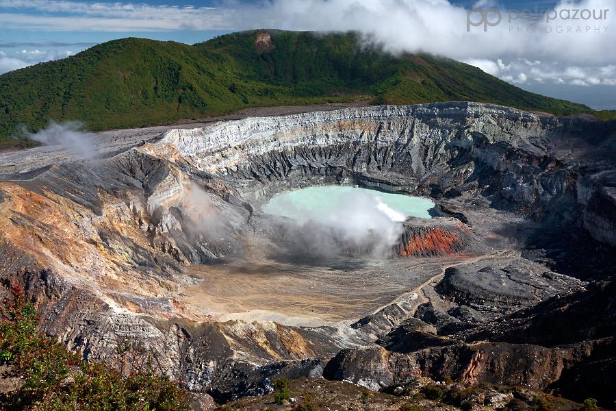 Kráter sopky Poás