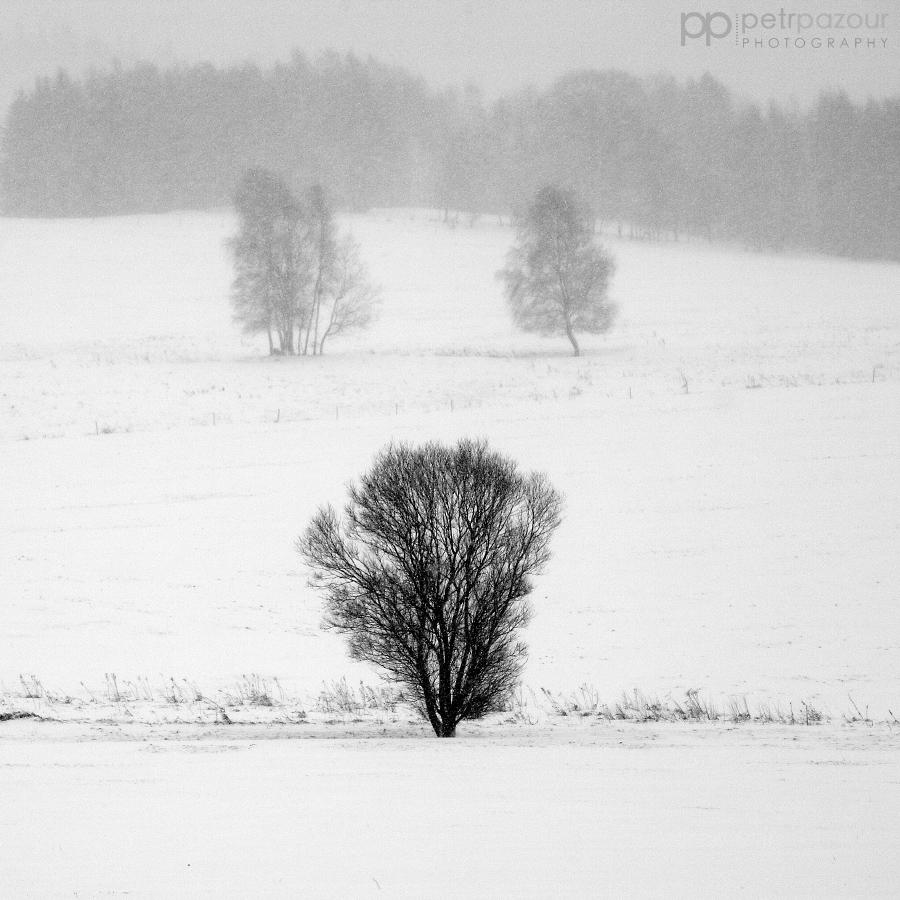 Zima na Vysočine