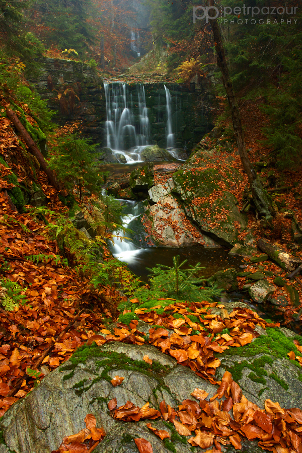 Vodopád na černohorském potoce