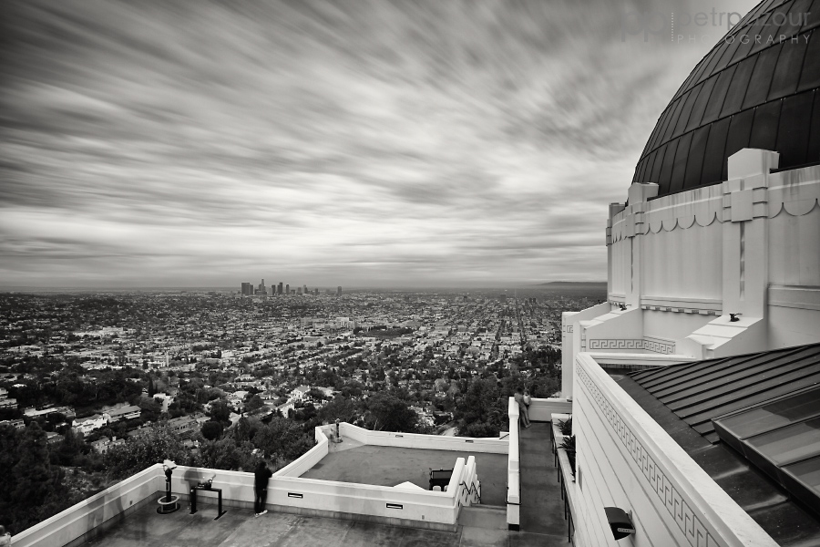 Los Angeles z Griffith observatory