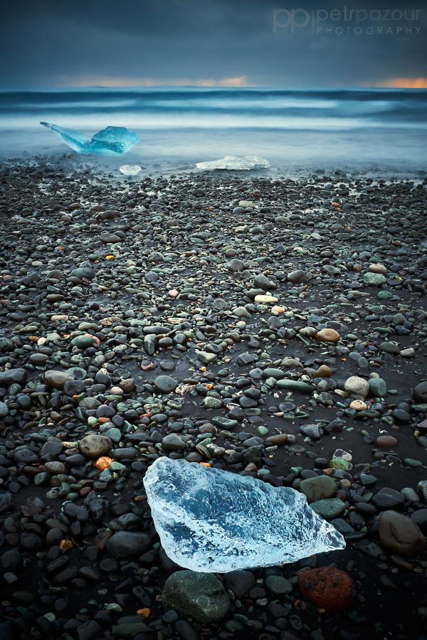 Ledové hrátky v Jökulsárlón