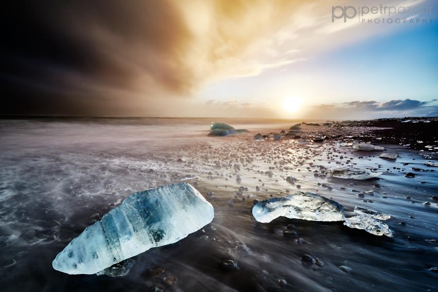 Jökulsárlón - Ledová symfonie