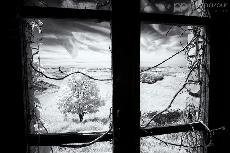 Okno do Toskánska