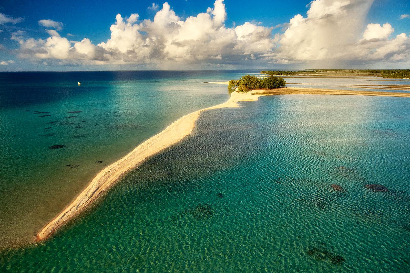 Nad atolem Tikehau