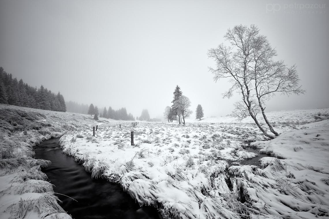 Šumavské zimní zákoutí
