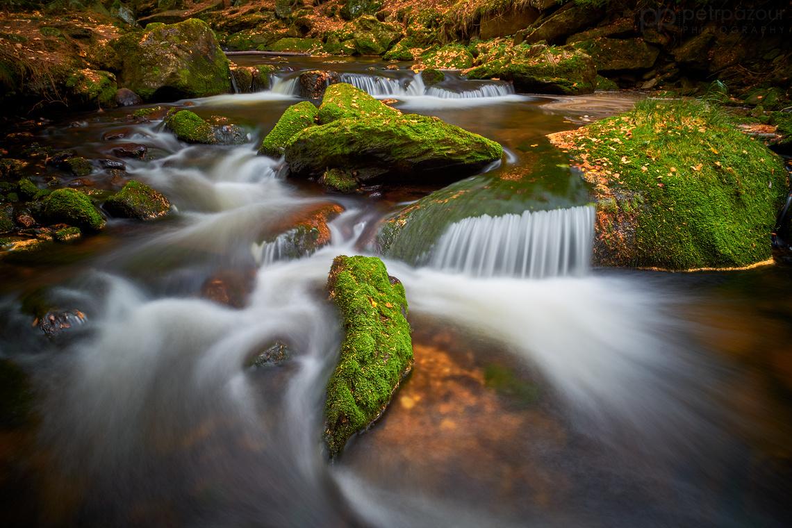 Podzimní Hamerský potok