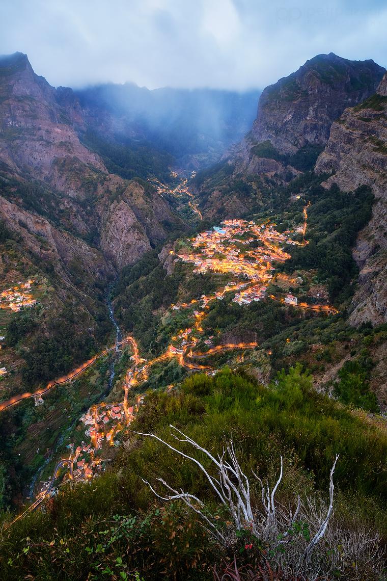 Madeira - Curral das Freiras - Údolí jeptišek