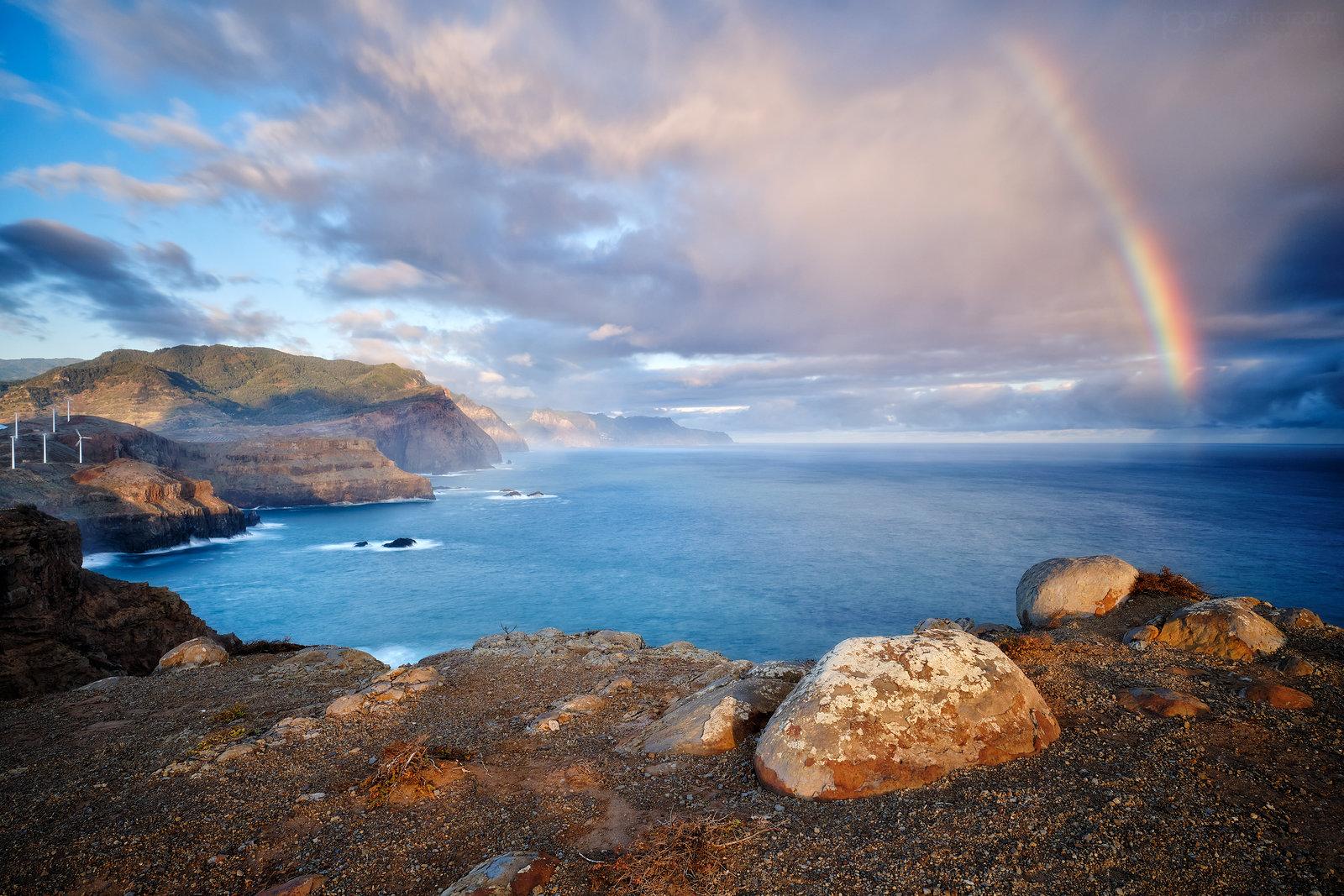 Duha nad Madeirou