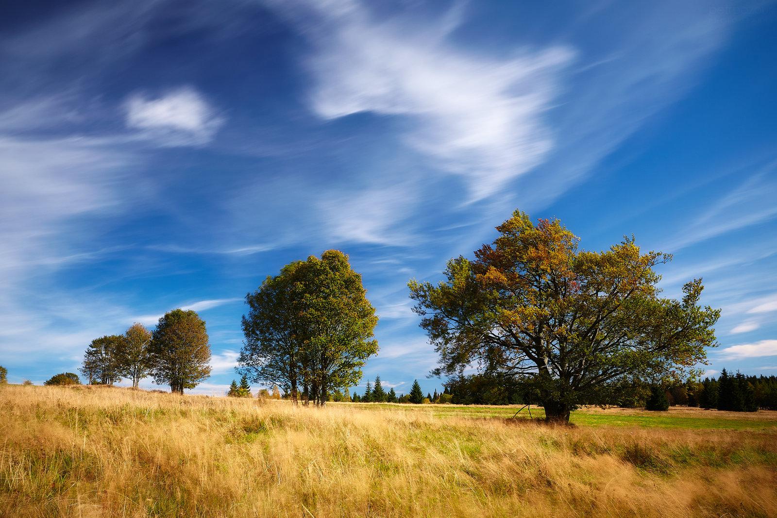 Podzim na Zhůří